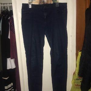 Denim - Dark blue denim jeans